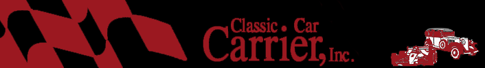 Logo, Classic Car Carrier, Inc. - Auto Transport